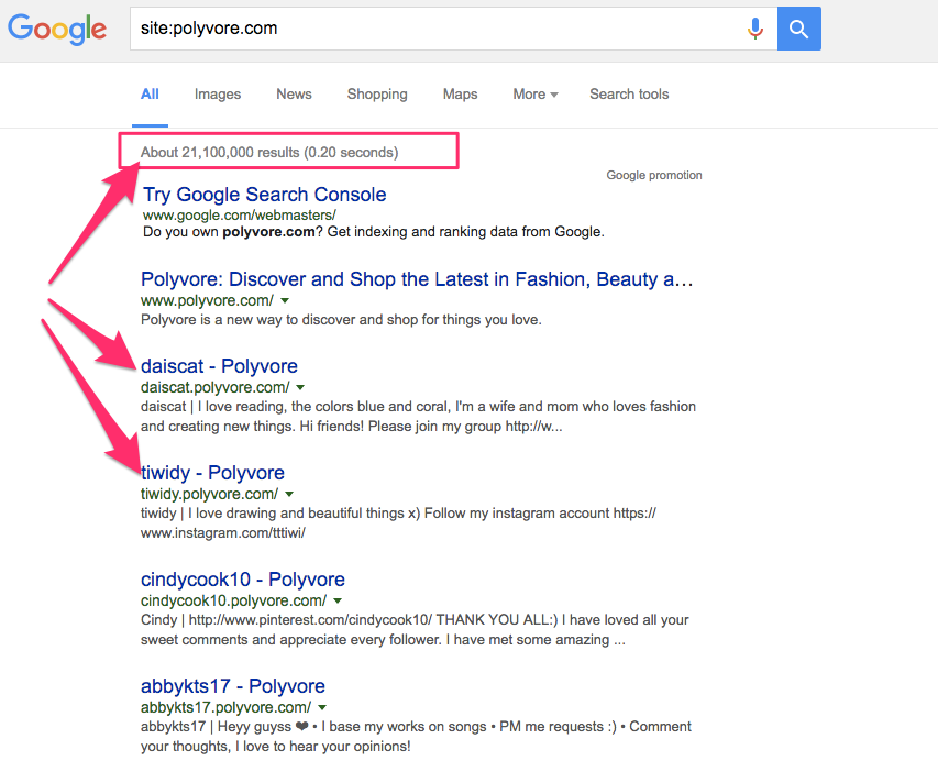 polyvore-google
