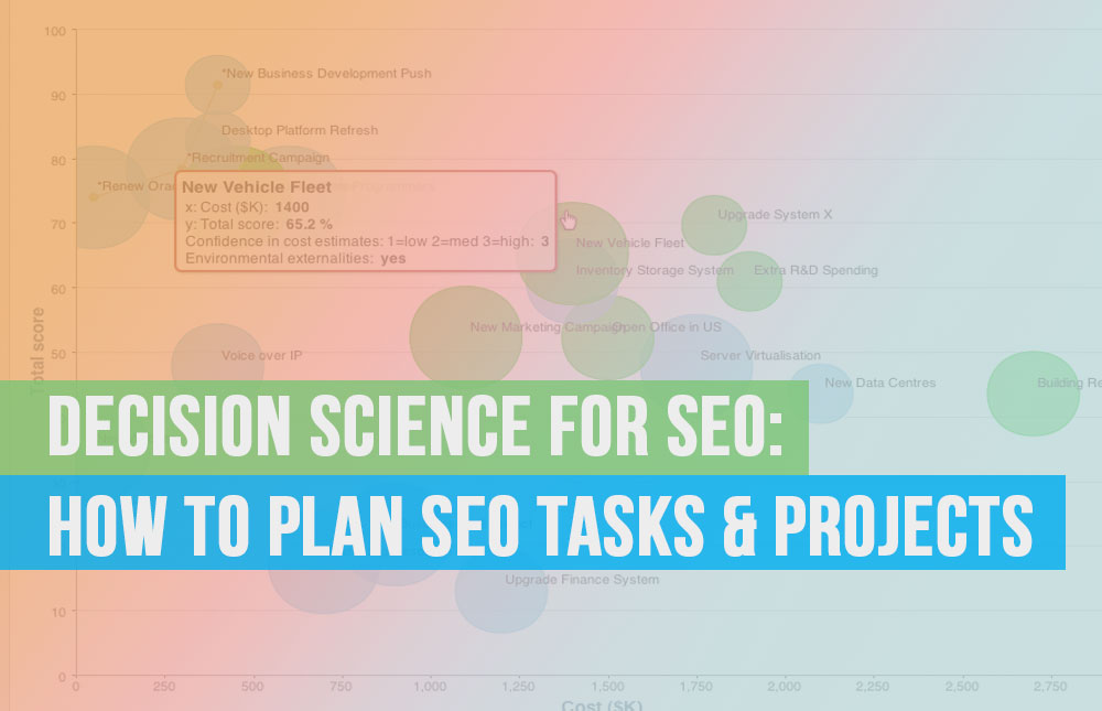 Decision Science for SEO: How to Plan SEO Tasks & Projects